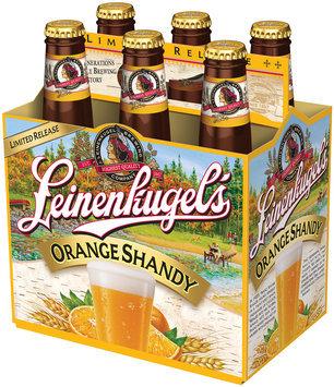 Leinenliugel's Lemon Summer Shandy Traditional Weiss Beer with Lemonade and Blackberry Juice 6-12 fl. oz. Bottle