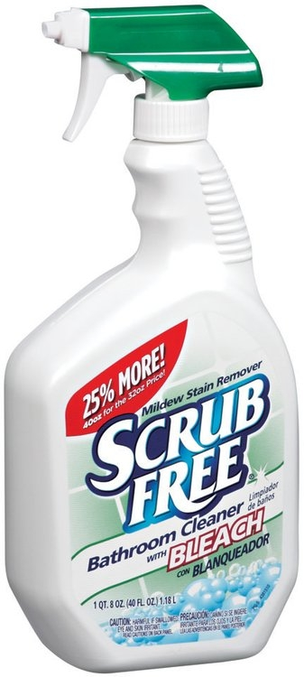 Scrub Free W Bleach Bathroom Cleaner 40 Fl Oz Trigger Spray Reviews Find The Best Bathroom