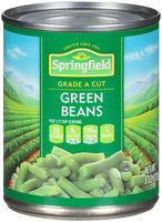 Springfield® Cut Green Beans 8 oz. Can