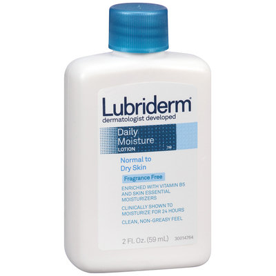 Lubriderm® Normal to Dry Skin Daily Moisture Lotion 2 fl. oz. Bottle