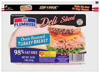 Plumrose® Deli-Sliced Oven Roasted Turkey Breast 16 oz.