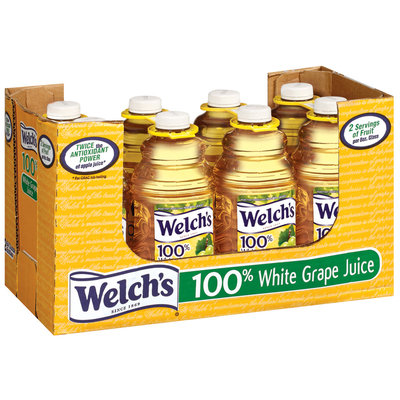 Welch's® 100% Juice Multiserve Juices White Grape