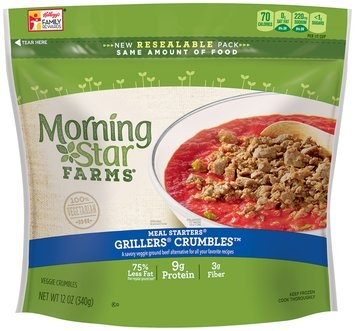 Morning Star Farms® Meal Starters® Grillers® Crumbles™