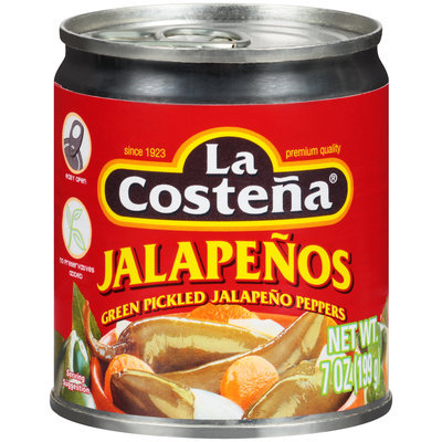 La Costena® Green Pickled Jalapeno Peppers