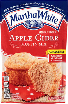 Martha White® Artificially Flavored Apple Cider Muffin Mix 7 oz. Pouch
