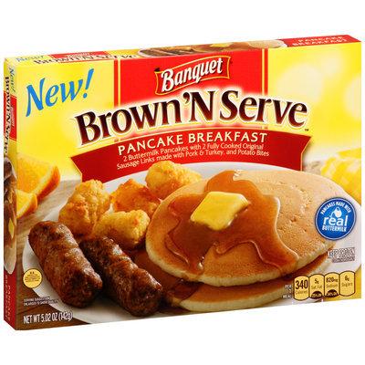 Banquet® Brown'N Serve™ Pancake Breakfast Meal