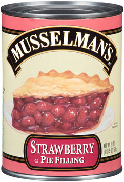 Musselman's® Strawberry Pie Filling 21 oz. Can
