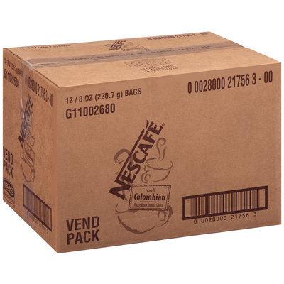 Nescafe 100% Colombian 100% Pure Coffee 8 oz. Bags