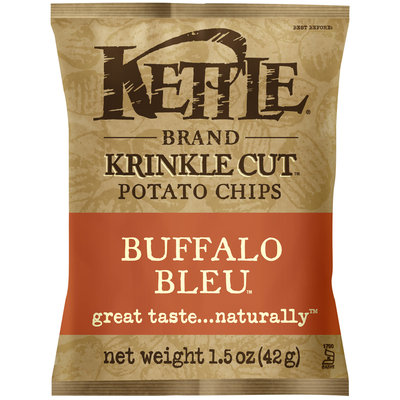 Kettle Brand® Krinkle Cut™ Buffalo Bleu™ Potato Chips