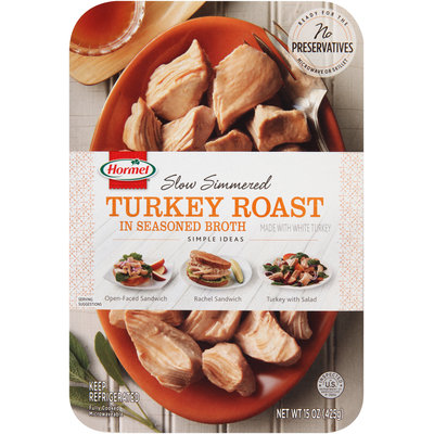 Hormel®   Slow Simmered Turkey Roast in Seasoned Broth 15 oz. Tray