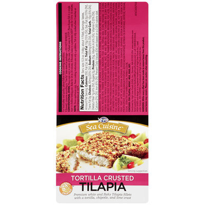 High Liner® Sea Cuisine™ Tortilla Crusted Tilapia