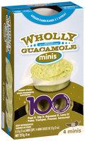 Wholly Guacamole® Avacado Ranch Whole Guacamole 4 Ct Minis 8 oz Box