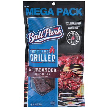 Ball Park® The Flame Grilled Bourbon BBQ Beef Jerky 10 oz.