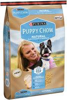 Purina Puppy Chow Natural Plus Vitamins & Minerals Dog Food 15.5 lb. Bag