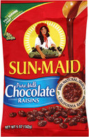 Sun-Maid® Pure Milk Chocolate Covered Raisins