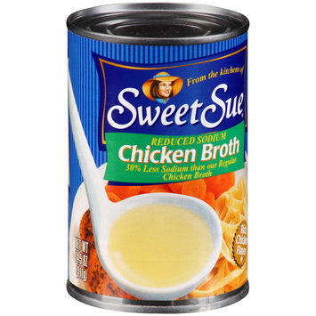 Sweet Sue® Reduced Sodium Chicken Broth 14.5 oz. Can