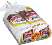 Sara Lee® Soft & Smooth® Made with Whole Grain White Bread Twin Pack 2-20 oz. Bags