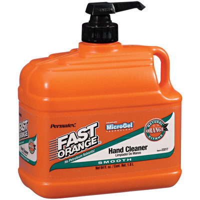 Permatex® Fast Orange® Smooth Lotion Hand Cleaner 64 oz Pump
