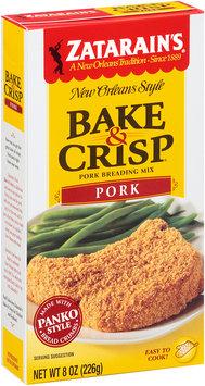 Zatarain's® Bake & Crisp® Pork Breading Mix 8 oz. Box