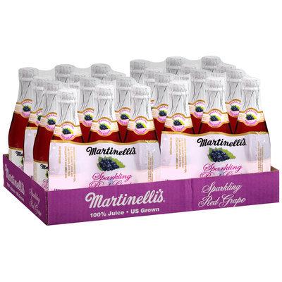 Martinelli's® Sparkling Red Grape 100% Juice 4-50.4 fl.oz. Packs