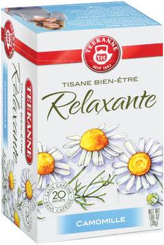 Teekanne Herbal Wellness Calming Camomile Tea Tea Bags 20 Ct Box