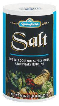 Springfield  Salt 26 Oz Canister