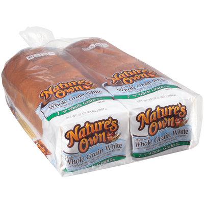 Nature's Own® Whole Grain White Bread 2-32 oz. Bags