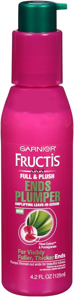 Garnier® Fructis® Full & Plush Ends Plumper Leave-In Serum 4.2 fl. oz. Bottle