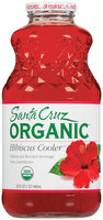 Santa Cruz Hibiscus Cooler Flavored Beverage 32 Oz Glass Bottle
