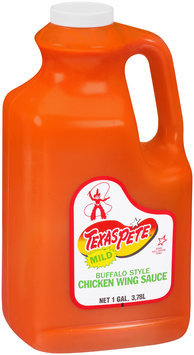 Texas Pete® Mild Buffalo Style Chicken Wing Sauce 128 oz. Jug