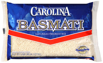 Carolina® Basmati Naturally Fragrant Rice 5 lb. Bag