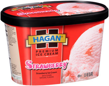 Hagan® Premium Ice Cream Strawberry