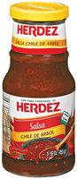 Herdez® Chile De Arbol Salsa 16 oz. Jar