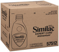 Similac Alimentum Expert Care 1 Qt Bottles Infant Formula 6 Ct Box