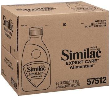 Similac Alimentum Expert Care 1 Qt Bottles Infant Formula 6 Ct Box