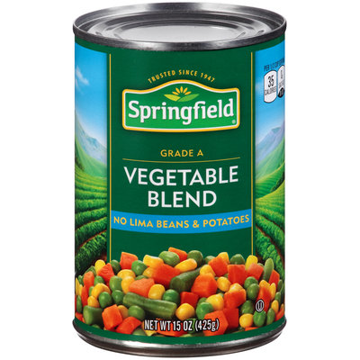 Springfield® Vegetable Blend 15 oz. Can