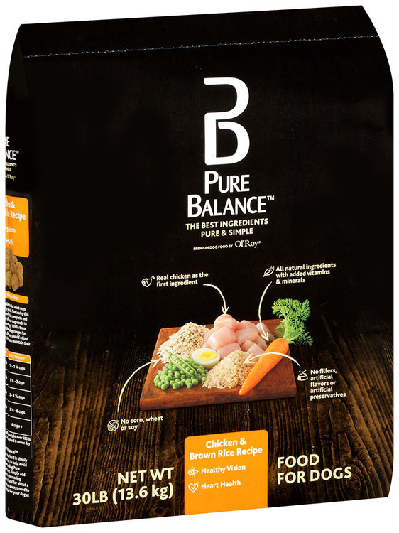 Pure balance chicken brown rice recipe dog food 30 lb bag reviews forumfinder Gallery