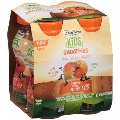 Bolthouse Farms Kids Smoothies Peach Meets Mango
