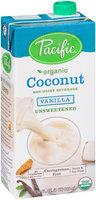 Pacific Organic Coconut-Unsweetened Vanilla