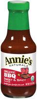Annie's Naturals® Organic Sweet & Spicy BBQ Sauce 12 oz. Bottle