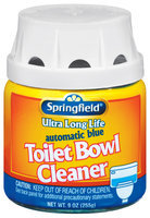 Springfield Automatic Blue Toilet Bowl Cleaner 9 Oz Jar
