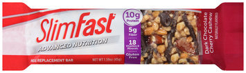 SlimFast® Advanced Nutrition Dark Chocolate Cherry Cashew Meal Replacement Bar 1.59 oz. Wrapper