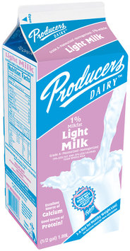 Producers 1% Light  Milk .5 Gal Carton