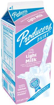 Producers 1% Light  Milk .5 Gal Carton