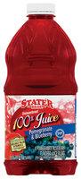 Stater Bros. Pomegranate & Blueberry 100% Juice 64 Oz Plastic Bottle