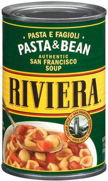 Riviera Pasta & Bean Soup 15 Oz Can