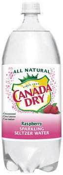 Canada Dry® Raspberry Sparkling Seltzer Water
