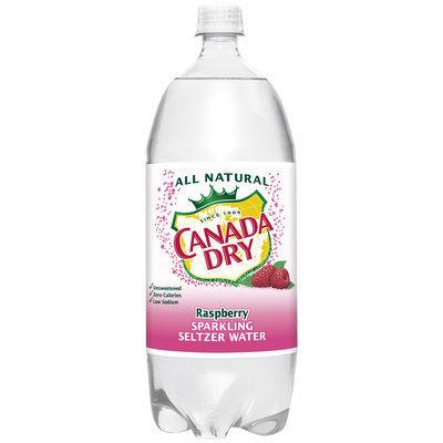 Canada Dry® Raspberry Sparkling Seltzer Water