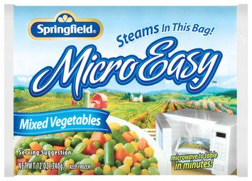 Springfield Micro Easy Mixed Vegetables 12 Oz Bag