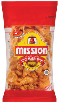 Mission Chicharrones Picante Pork Rinds 1.875 Oz Bag